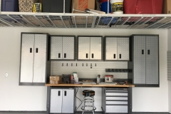 Cabinets, Overhead Racks, and Floor