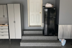 Steps, Cabinets, and Floor